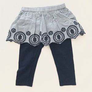 🎉3 for 20 🛍 Baby Gap skirt with pants 12 - 18 mo